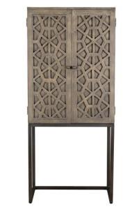 Dulap maro din lemn si metal pentru sticle 182 cm Arka Giner y Colomer