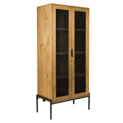 Dulap maro din MDF 180 cm Hardy Zuiver
