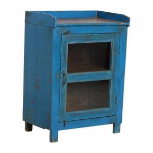 Dulapior albastru din lemn Udima Raw Materials