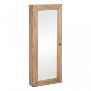 Dulapior maro cu oglinda din lemn mindi Mariela Ixia
