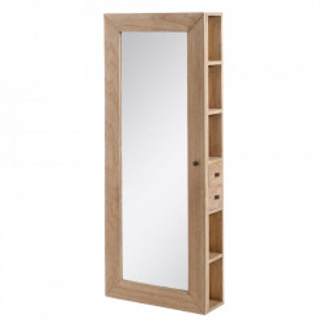 Dulapior pentru perete cu oglinda din lemn mindi Mariela Deris Ixia