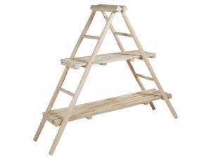 Etajera din lemn de tec 155 cm Capri Santiago Pons