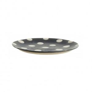Farfurie albastra/bej nisipiu din ceramica pentru desert 14,5 cm Grainy Nordal