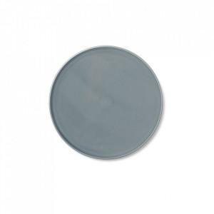 Farfurie albastra din portelan 17 cm Norm Menu