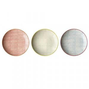 Farfurie ceramica rotunda 20 cm Nordic Carla Bloomingville