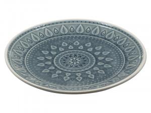 Farfurie din portelan pentru desert 20 cm Azul Natural Santiago Pons