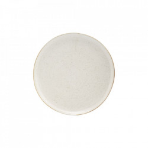 Farfurie intinsa gri/alba din portelan 28,5 cm Pion House Doctor