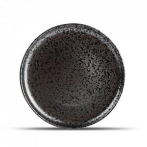 Farfurie intinsa neagra din portelan 28,5 cm Oxido Fine2Dine