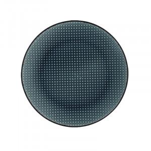 Farfurie pentru desert gri inchis din ceramica 20 cm Kris LifeStyle Home Collection