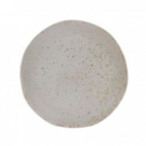 Farfurie verde din ceramica 28,5 cm Bold and Basic Mint HK Living