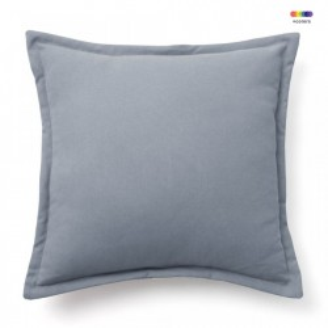 Fata de perna albastra din bumbac 45x45 cm Lisette La Forma