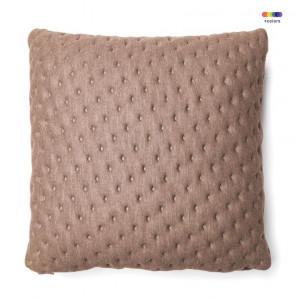 Fata de perna bej din textil 45x45 cm Mak Moncel La Forma