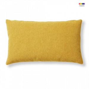 Fata de perna galben mustar din textil 30x50 cm Mak Varese La Forma