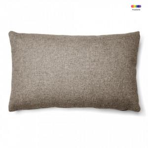 Fata de perna maro din textil 30x50 cm Mak Avi La Forma