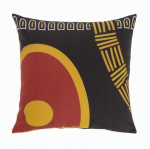 Fata de perna multicolora din textil impermeabil 45x45 cm Marietou La Forma