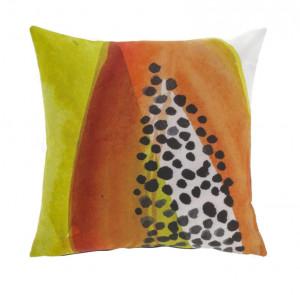 Fata de perna multicolora din textil impermeabil 45x45 cm Papaya La Forma