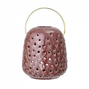 Felinar maro din ceramica 14 cm Vontiv Bloomingville