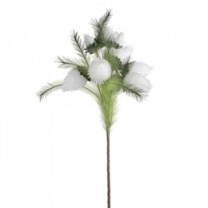 Floare artificiala din polietilena si fier 80 cm Uige Ixia