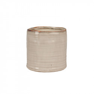 Ghiveci crem din ceramica 17 cm Falk Lifestyle Home Collection