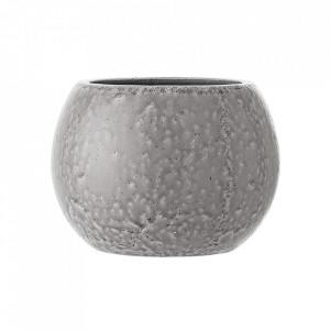 Ghiveci gri din ceramica 23 cm Molly Bloomingville