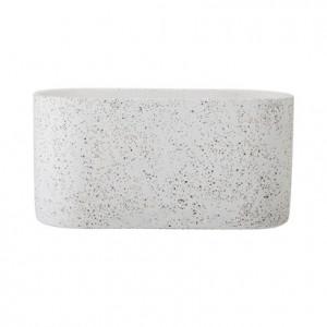 Ghiveci gri din ciment 30x15x12 cm Bloomingville