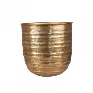 Ghiveci maro alama din aluminiu 31 cm Ragnar Lifestyle Home Collection