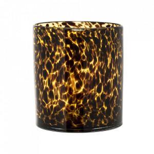 Ghiveci maro din sticla 15,5 cm Rita Bloomingville
