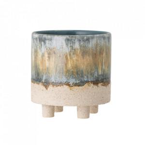 Ghiveci multicolor din ceramica 15 cm Imoa Creative Collection