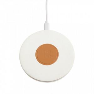 Incarcator wireless alb pentru telefon wiCharge White Kreafunk