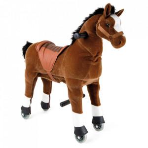 Jucarie de calarit din lemn si textil Foal Small Foot