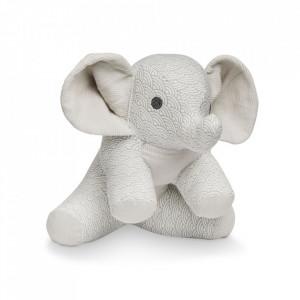 Jucarie din bumbac Elephant Grey Wave Cam Cam