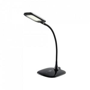 Lampa birou neagra din plastic acrilic cu LED 46 cm Stuttgart MW Glasberg