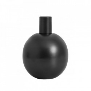 Lampa cu ulei neagra din inox si sticla pentru exterior 14 cm Garden Torch Small Nordal