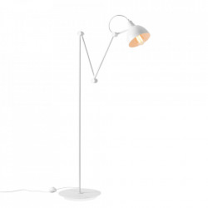 Lampadar alb din metal 233 cm Aida Bialy Aldex
