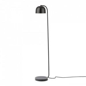 Lampadar negru din granit si otel cu LED 136 cm Grant Normann Copenhagen
