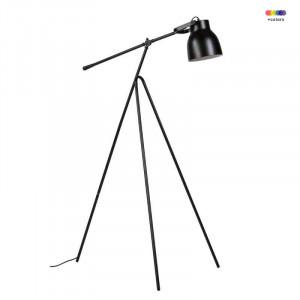 Lampadar negru din metal 170 cm Antella Black Somcasa