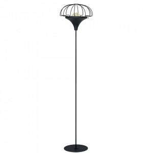 Lampadar negru din metal 175 cm Danton Large Aldex