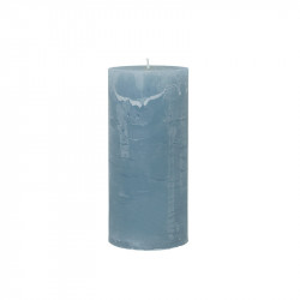 Lumanare albastra din parafina 15 cm Rustic Cozy Living Copenhagen