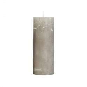 Lumanare gri piatra din parafina 35 cm Rustic Avi Cozy Living Copenhagen