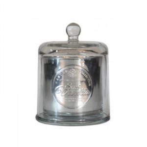 Lumanare parfumata cu suport argintiu din sticla 9,5 cm Deepa Vanilla Opjet Paris
