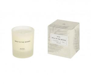 Lumanare parfumata din sticla 10 cm Walk in the Woods Kave Home