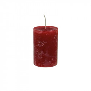 Lumanare rosie din ceara parafinica 10 cm Daniel LifeStyle Home Collection
