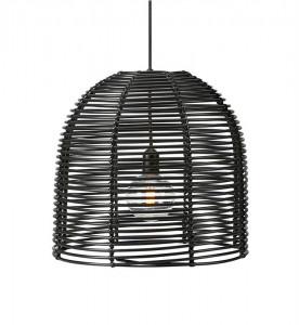 Lustra dimabila neagra din plastic pentru exterior cu LED Garden Markslojd