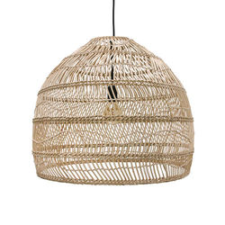 Lustra din rachita maro 60 cm Wicker HK Living