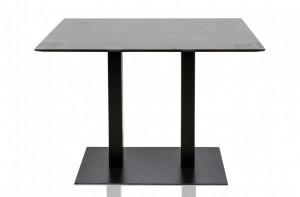 Masa bar neagra 110x70 cm Pillar Versmissen