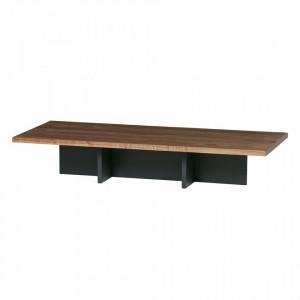 Masa cafea din lemn si MDF 137 cm James Woood