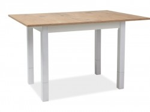 Masa dining extensibila din lemn 91x(62)124 cm Iza Signal Meble
