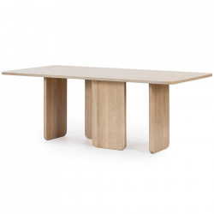 Masa dining maro din lemn 100x200 cm Arq Teulat