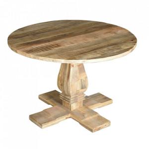 Masa dining maro din lemn de mango 120 cm Mivath Giner y Colomer