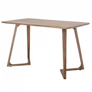 Masa dining maro din lemn de salcam 78x130 cm Luie Bloomingville